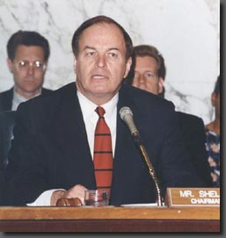 Richard Shelby - Senator Shelby chairing the Senate Committee on Banking, Housing and Urban Affairs