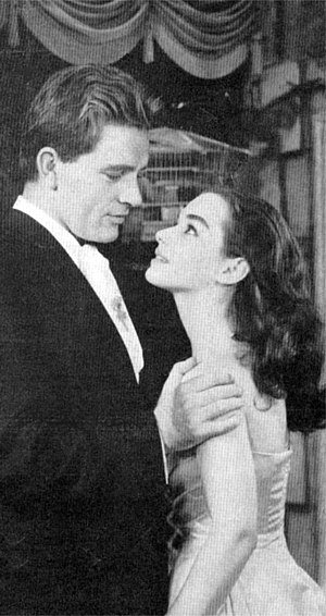 Léocadia - Richard Burton and Susan Strasberg in the 1957 Broadway production Time Remembered