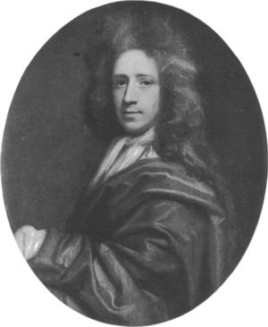 Richard Waller (d. 1715) - etching by T. Murray, based on a painting by Godfrey Kneller (1711)