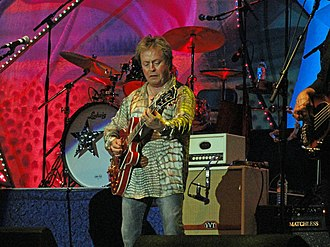 Rick Derringer - Derringer live with Ringo Starr in 2011