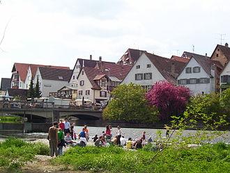 Riedlingen - Image: Riedlingen Flohmarkt 2004 2