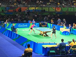 Rio 2016 - Table tennis women's quarter finals (29074537662).jpg