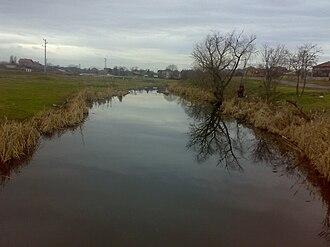 Banska - River Banska in Dobrich