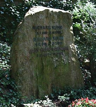 Richard Kuhn - Kuhn's grave in Heidelberg