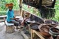 Roasting coffee - Satria coffee plantation (17058380675).jpg