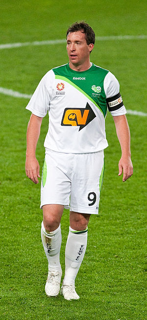 Robbie Fowler - Fowler playing for North Queensland Fury.