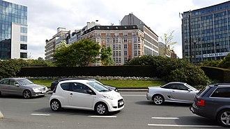 Schuman roundabout - Schuman roundabout, Brussels.