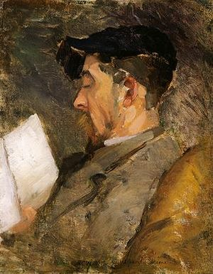 Theodore Robinson - Theodore Robinson, Self-portrait (c. 1884-1887), collection: Margaret and Raymond Horowitz