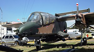 1992 Venezuelan coup d'état attempts - An OV-10E Bronco similar to ones used by Chávez's rebels.
