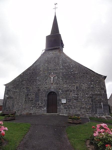Rocquigny (Aisne) église (ouest)