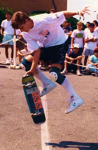 Rodney Mullen - Rodney Mullen, 1988.