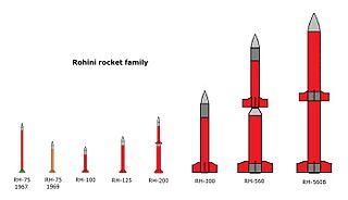 Rohini (rocket family) sounding rockets