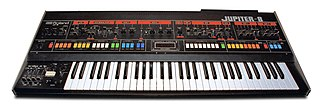 Roland Jupiter-8 1981 polyphonic analog synthesizer