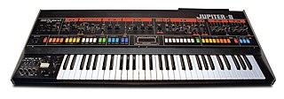 Roland Jupiter-8 analog synthesizer