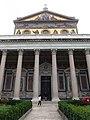 Roma, Basilica di San Paolo Fuori le Mura, facciata.jpg