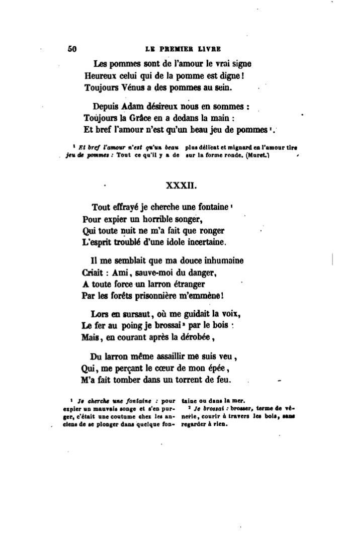 Pageronsard Choix De Poésies édition 1862 Tome 1djvu