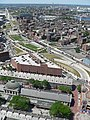 Rose Kennedy Greenway aerial photo, Boston.JPG