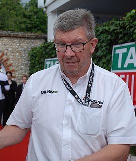 Ross Brawn British automotive engineer