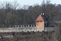 Rothenburg ob der Tauber, Alte Burg 2, Überbau des Südtors-20160108-001.jpg