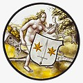Roundel with Nude Woman Supporting a Heraldic Shield MET cdi32-24-32s1.jpg