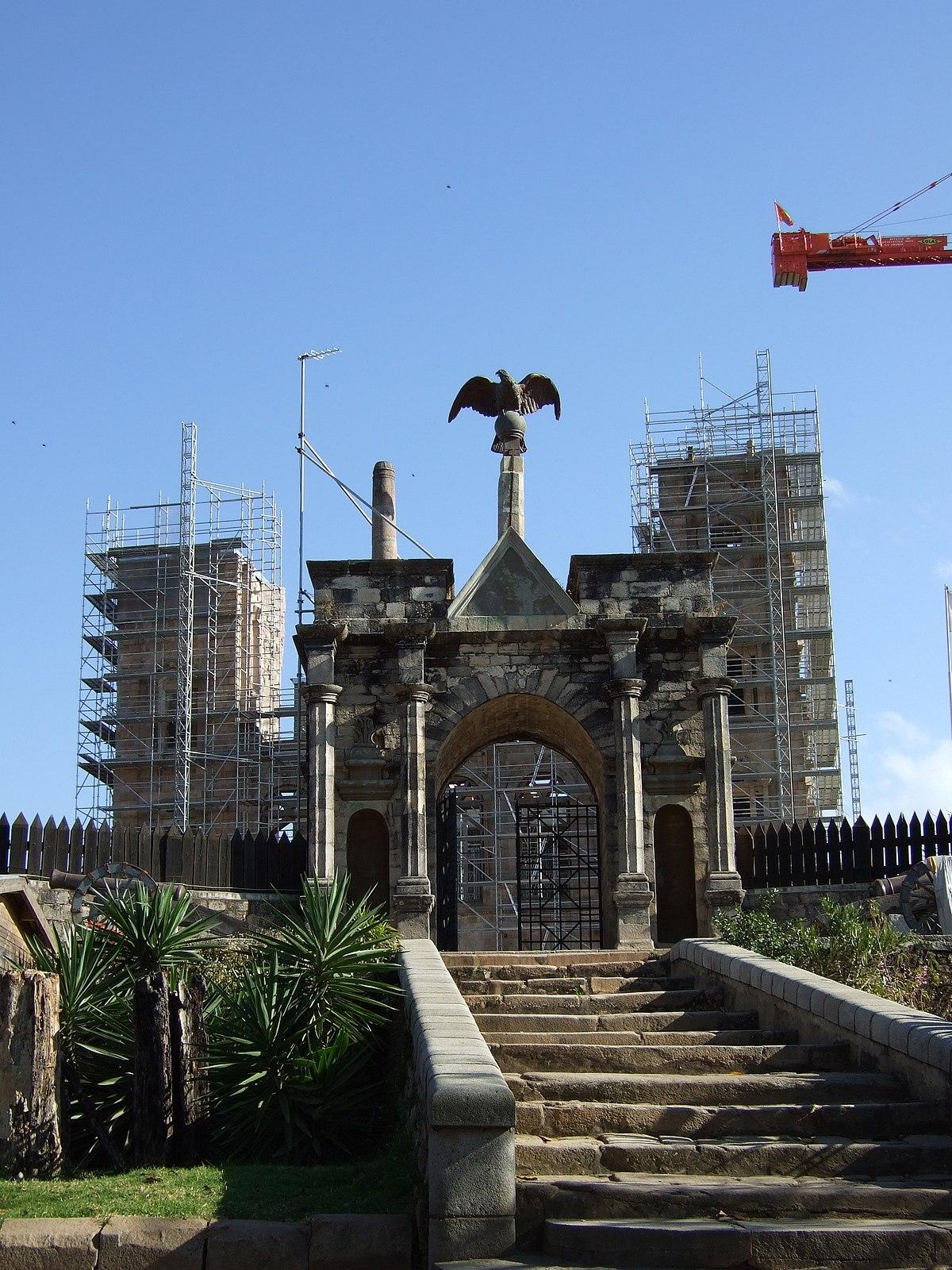 Rova Antananarivo Madagascar