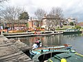 Rowers set of from the Canal Basin at Chichester - geograph.org.uk - 758448.jpg