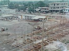 The construction of Roxas Public Market-1987