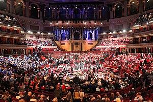 Acoustic space -  Scratch Messiah 2015 at Royal Albert Hall, Kensington, London, United Kingdom