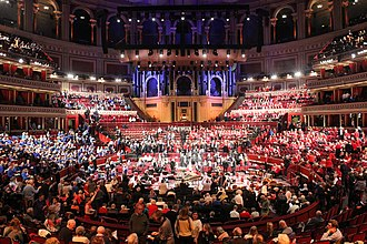Acoustic space -  Scratch Messiah 2015 at Royal Albert Hall, Kensington, London, United Kingdom