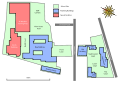 Royal Grammar School Guildford Site Map.svg