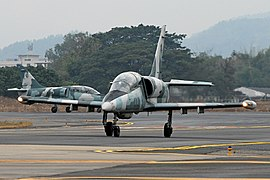 Royal Thai Air Force Aero L-39ZA-ART Albatros Prasertwit.jpg