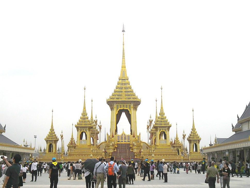 Royal crematorium of Bhumibol Adulyadej - 2017-11-05