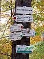 Rozcestí Pod Drnclíkem, rozcestník.jpg