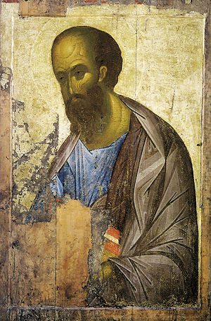 Apostle Paul, 1410s (Tretyakov Gallery, Moscow)