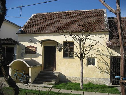 The house where Rudolf Steiner was born, in present-day Croatia