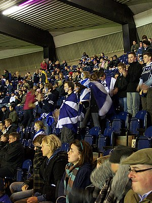 Rugby union in Scotland - Image: Rugby World Cup 2007 Scotland v Romania 177