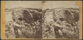 Ruins of Ticonderoga. Cellar of the cast line of barracks, showing entrance to the oven, looking north, by Stoddard, Seneca Ray, 1844-1917 , 1844-1917.png