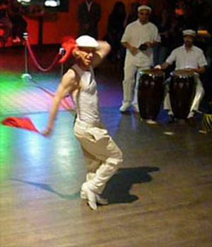 Cuban rumba - Rumba columbia performance in Washington, DC (2008).