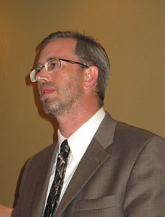 Russell Davis (writer) - Davis at the Nebula Awards in 2010