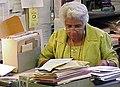 Ruth E. Hodge, archivist, Pennsylvania State Archives, c. 2000.jpg