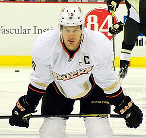 Ryan Getzlaf - Getzlaf with the Ducks in 2012