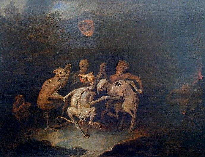 Ryckaert, David III - La ronde des Farfadets de Les Farfadets - 17th c.jpg