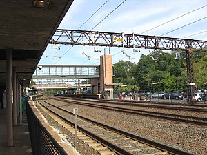 Rye (Metro-North station) - From southbound platform