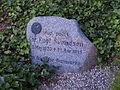 Sønder Stenderup Kirke - gravsted for Chr. Fugl Svendsen.JPG