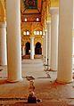 S-TN-23 Relaxedly enjoying the Pillars of Thirumalai Naicker Palace.jpg