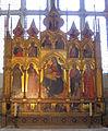 S.croce, sagrestia, cappella rinuccini, polittico di Giovanni del Biondo.JPG
