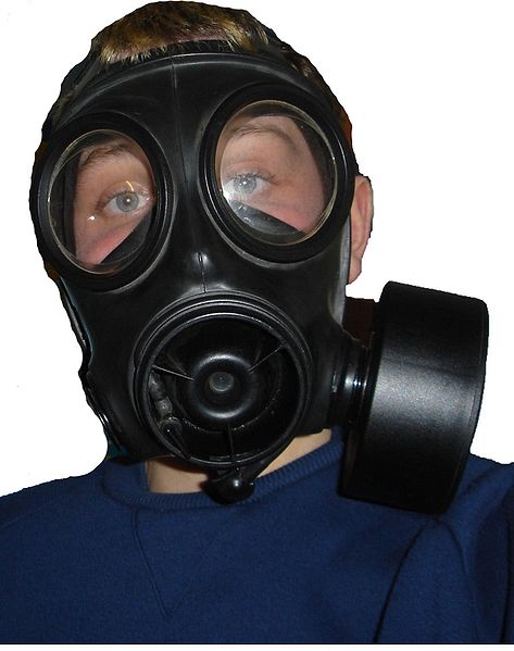 gas mask respirator public domain