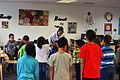 SAC gets karate lesson 161209-F-CJ211-001.jpg