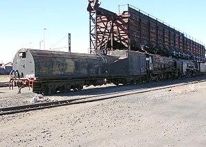 South African type EW2 tender - Image: SAR Class 25NC 3437 (4 8 4)