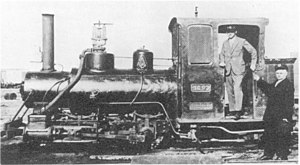 South African Class NG2 0-4-2ST - No. NG93 after rebuilding, without the saddle tanks